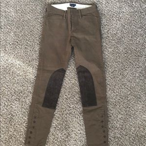 Ralph Lauren Women's RUGBY pants Brown Size 0